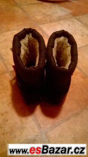 zimní boty, sněhule demar 26-27