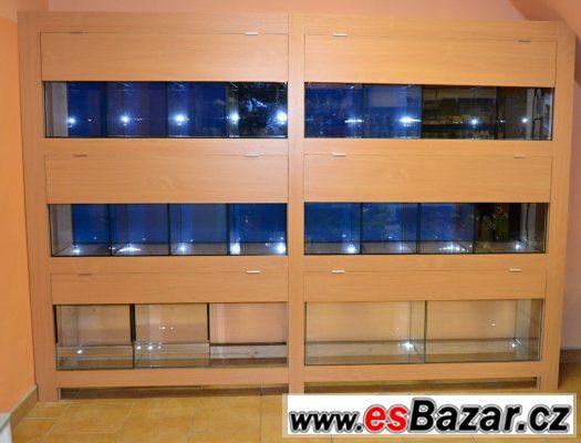 Akvarijní stěna-nová nepoužitá SLEVA