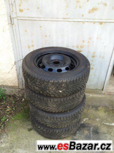 Zimní pneu na discích Ford 195/65 R15, 5x108