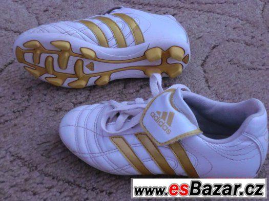 kopačky adidas zlato-bílé