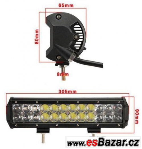 LED rampa s čipy OSRAM o výkonu 120W a délce pouze 12