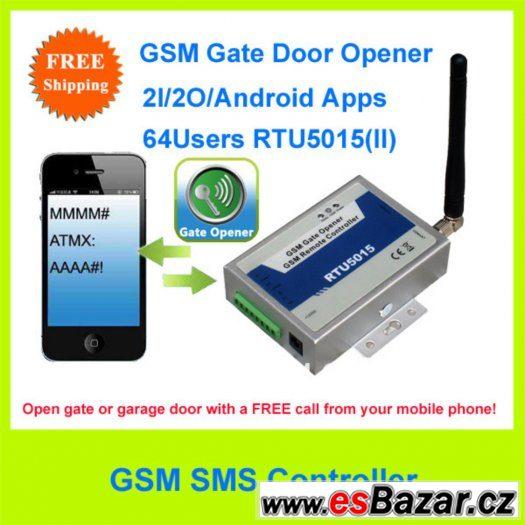 GSM terminál pro otevírání vrat prozvoněním