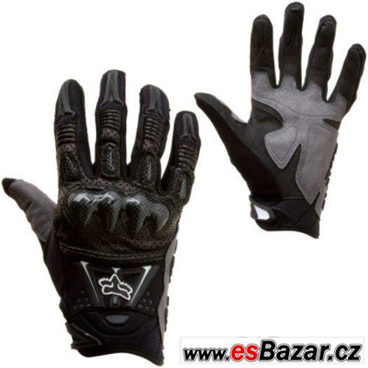 Prodám rukavice FOX Bomber, nové, nepoužité, vel. XL