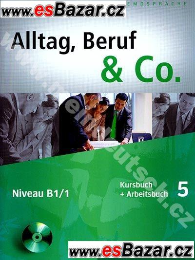 Alltag, Beruf & Co. 5 - učebnice němčiny