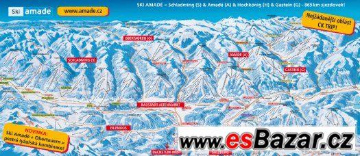 Lyžování Rakousko – Ski Amadé – termín sobota 05. 03. 2016 –