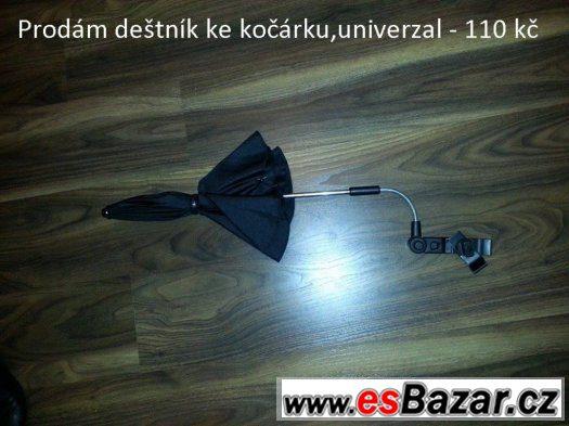 univerzal deštník na kočárek