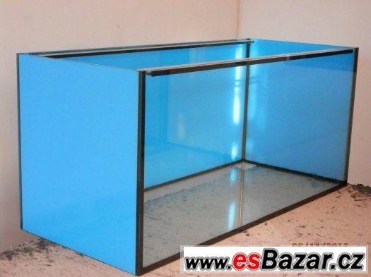 Akvárium 630litrů 150 x 60 x 70 cm, nové, vč. krycích skel.