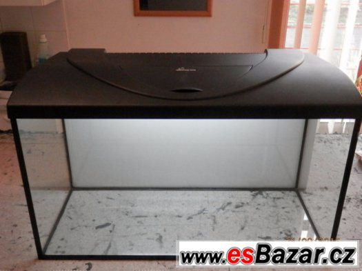 Prodám nové akvárium 130 litrů 80 x 35 x 45 cm, sklo 8 mm,