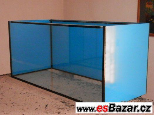 Akvárium 430 litrů - 130 x 55 x 60 cm - - Nabídka -
