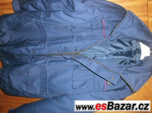 nový teplý pánský kabát /kapuce na zip/