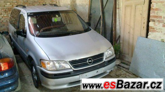Opel Sintra 2,2i 16V, r.v. 98 veškeré náhradní díly