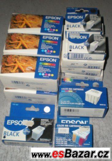Inkoustové náplně Epson - 17 ks