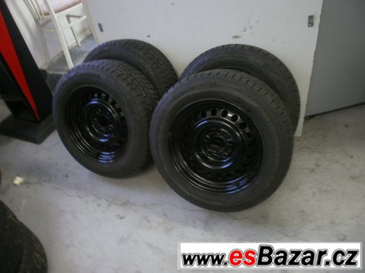 Prodám zimní  pneu  Continetal 205/60-15