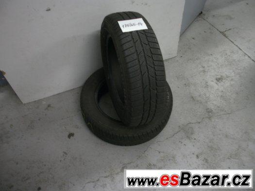 Prodám 2 x zimní pneu Semperit 175/65-14