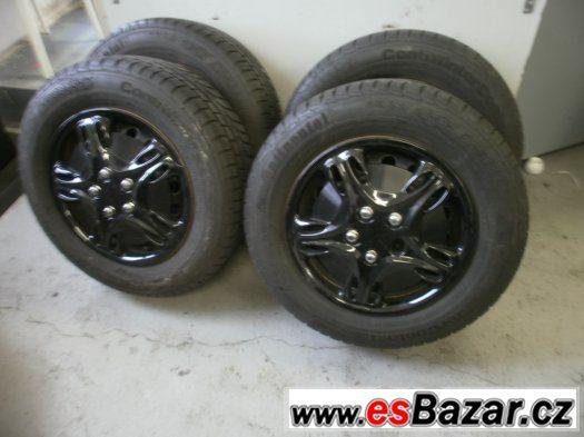 Prodám zimní sadu s pneu 205/65-15