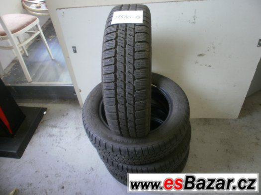 Prodám 4 x zimní pneu Continetal 175/65-15