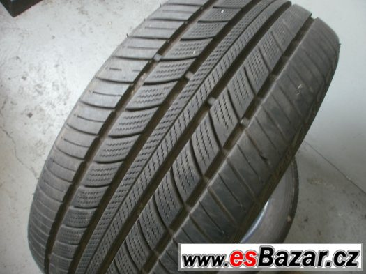 Prodám 2 x zimní pneu Nankang 195/50-15-