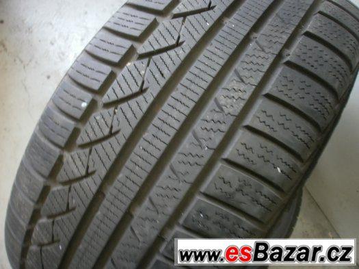 Prodám 2 x zimní pneu Continetal 225/55-16