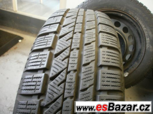 Zimní sada Opel,Suzuki s pneu 155/65-14 stav 80%