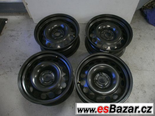 Prodám 4 x ocel.disk Peugeot, Citroen 7 1/2 x 17 et 29