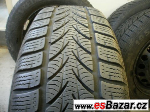 Prodám zimní sadu Škoda Octavia II,VW,Seat pneu 195/65-15