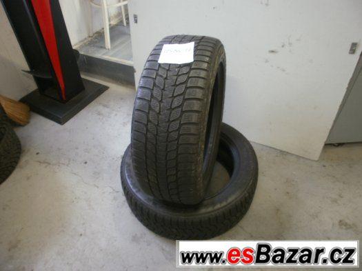 Prodám 2 x zimní pneu Bridgestone 225/55-17