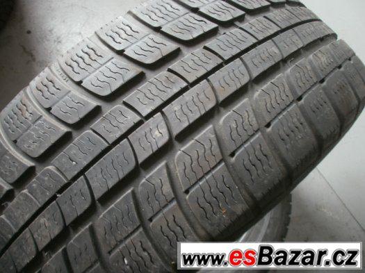 Prodám 2 x zimní pneu Michelin 215/55-16