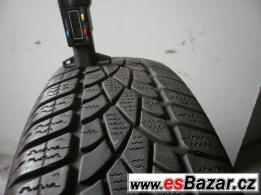 Prodám 2 x zimní pneu Dunlop 185/65-15