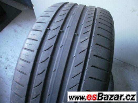 Prodám 2 x letní pneu Continetal 235/40-18