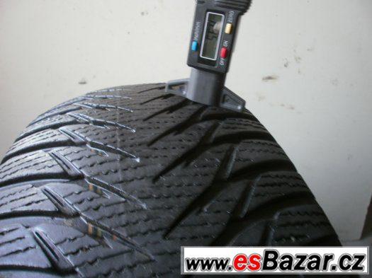 Prodám 2 x zimní pneu Goodyear 205/55-16