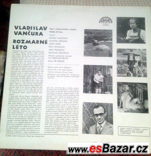 LP gramodeska: V.Vančura ROZMARNÉ LÉTO (1971)
