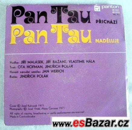 SP. 2x gramodeska Jan Werich - PAN TAU  & LP. O VÍLE AMÁLCE