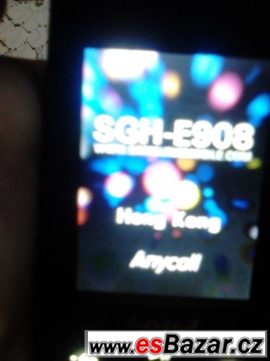 prodám za rozumnou cenu tel.samsung SGH-E908 ANYCALL