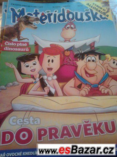 prodám větší množství dětských časopisů.