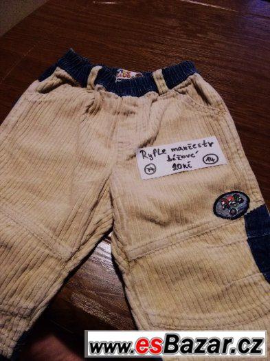 Prodam pekne kalhoty v top stavu