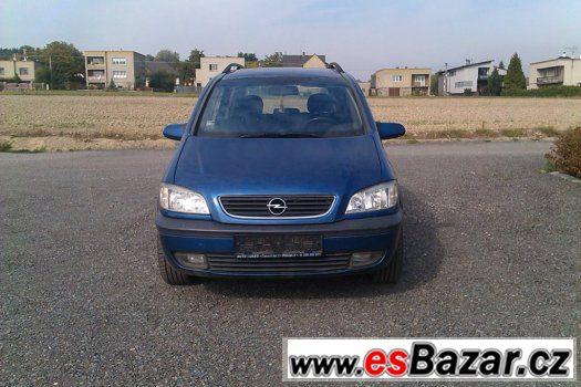 Náhradní díly Opel Zafira  2,2Dti r.v.1999-2005