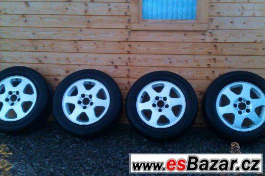 AL kola 4ks Opel Zafira+pneu 195/65/15