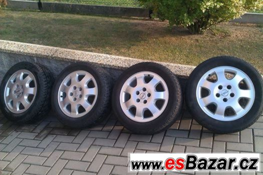 AL kola 4ks Opel Zafira+ Barum 205/55/r16