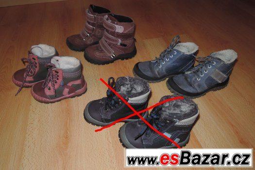 Dětské zimní boty zdravotní