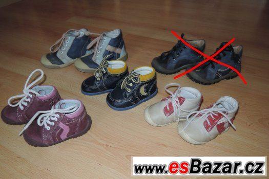 Dětská celoroční zdravotní obuv