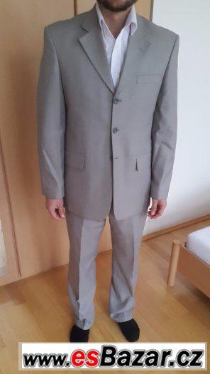 Oblek PACO ROMANO, velikost 38