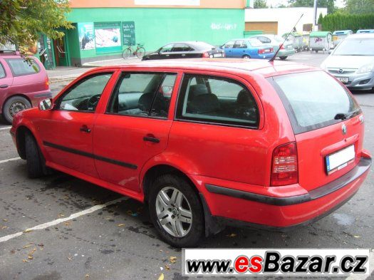 Škoda Octavia,1.8T,110kW,zachovalý stav