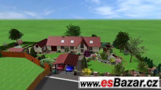 Virtuální návrhy zahrad