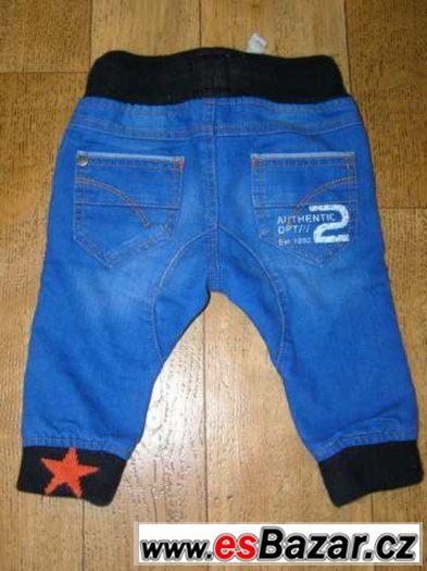 Hvězdičkové riflíky kalhoty next 74