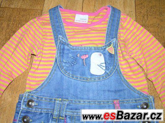 Kočičkový set laclovka + tričko 98