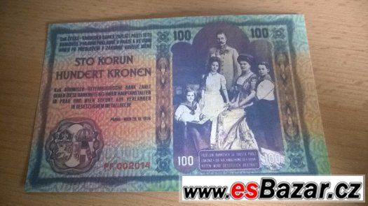 Kopie vzácných návrhů bankovek ČSR , ČSSR