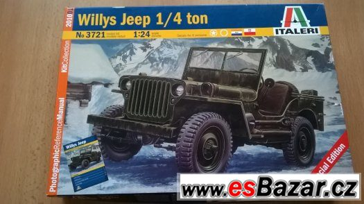 model Jeep Willys 1:24