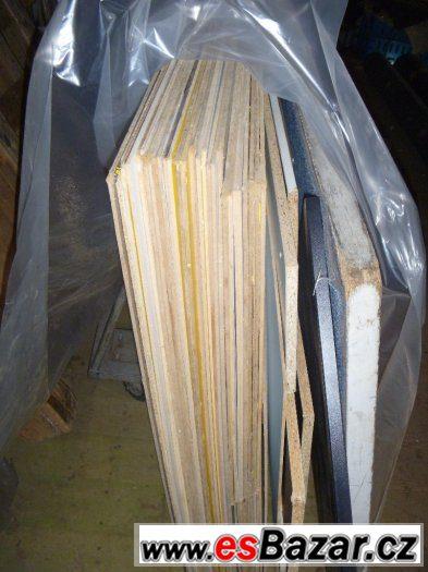 dřevotřískové a sololitové desky