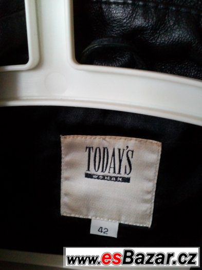 Dámské kožené sako 42