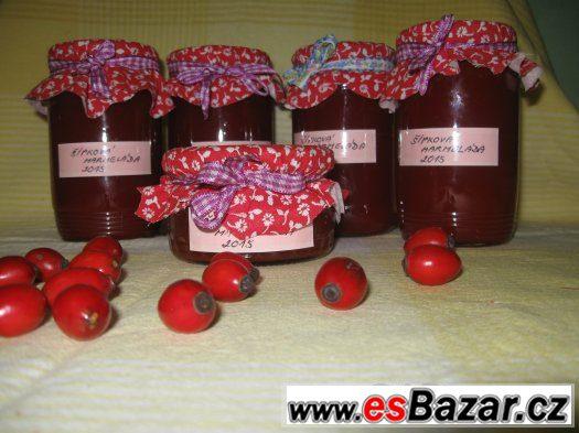 Šípková marmeláda - domácí